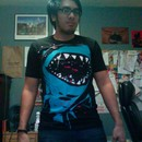 heythequickness wearing Shark with pixelated teeth! by gloopz