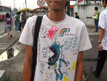 chakigun wearing The Perfect Tee by a_mar_illo