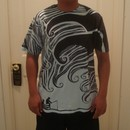 MusicByDesignBN wearing Dark Wave by ArtrocitY