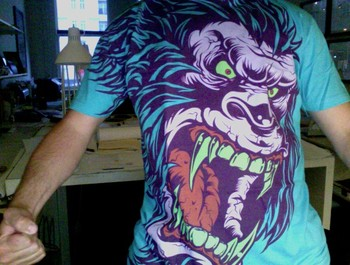 Elpaulli wearing SASQUATCH FRENZY! by MR-NICOLO