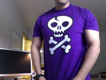 JeffDBH wearing Skull & Crossbones by wotto