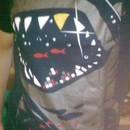 XDot wearing Limited Edition - Shark with Pixelated Teeth by gloopz