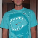 Pistol0928 wearing Shark with pixelated teeth! by gloopz
