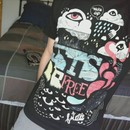 Jestik wearing Lets Be Free by neonbeast