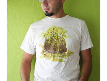 oliver wearing T Forest Guardian by BubuSam