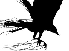 As the Crow Flies T-Shirt Design by