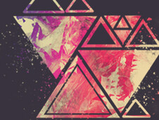 Triangular Collisions T-Shirt Design by