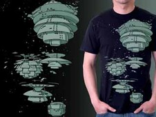 Little Denmark Space Colony T-Shirt Design by