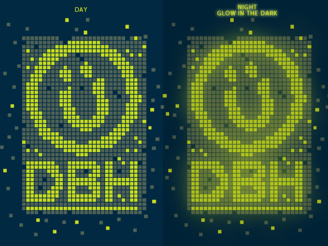 dbh glow in the dark