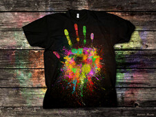 Artist Hand T-Shirt Design by