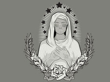 Mary In Raybans T-Shirt Design by