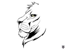 Lion lines T-Shirt Design by