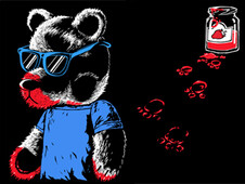 Teddy Bear Jam T-Shirt Design by
