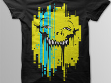 True Teeth T-Shirt Design by