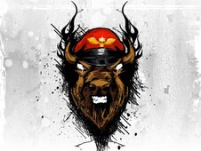 M bison T-Shirt Design by