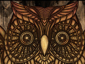 hattricks wearing Steampunk Owl Clock by atatos