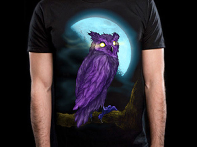 Purple Owl Moon