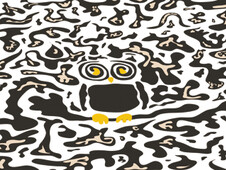 Hidden owl T-Shirt Design by