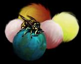 The Wasp Who Took Over the World by kraken