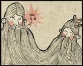 Beard brothers by aman