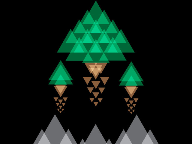 Triangular Forest