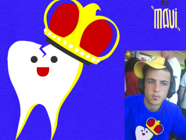ONLY BAD TOOTH GETS A CROWN :P