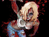 RahDesign wearing BloodyZombie by leoarts