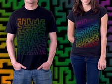 Abstraction T-Shirt Design by