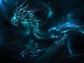 Blue Dragon by basher1995