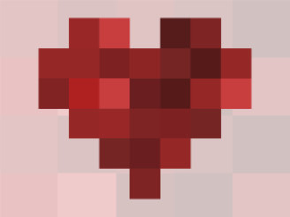 8-bit heart by iknuddel
