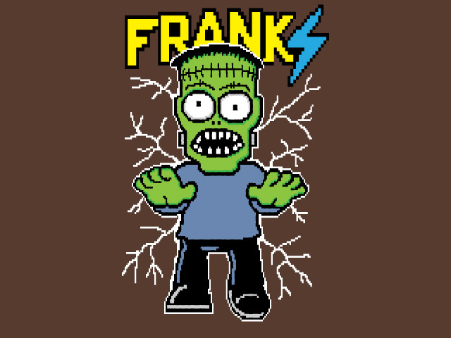 Franki the 8-bit monster