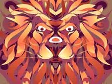 lion vector T-Shirt Design by