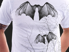 Bat T-Shirt Design by