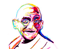 gandhi T-Shirt Design by