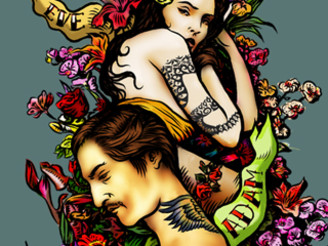 Adam and Eve by LASCARICA