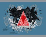 The Mystical Triangle (with blue tee) by afrar