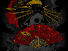 Geisha T-Shirt Design by