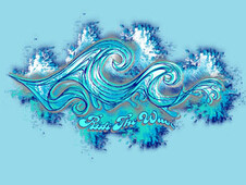 Ride the wave T-Shirt Design by