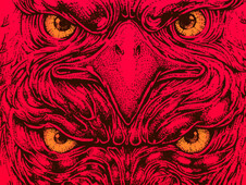 eye of hunters T-Shirt Design by