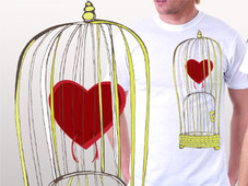 When you heart is... T-Shirt Design by