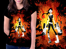 zombie attack! T-Shirt Design by