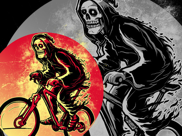 Hot Biking Grimreaper