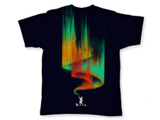 Borealis painter T-Shirt Design by