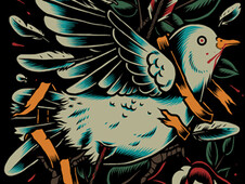Dead Bird ! T-Shirt Design by