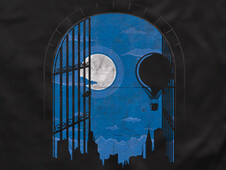 Ghosts of the City T-Shirt Design by