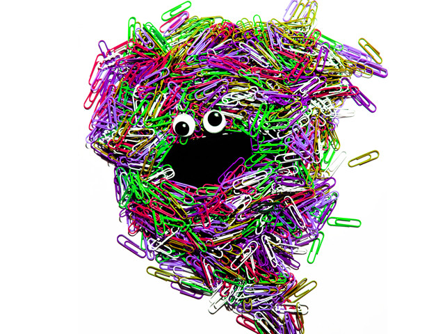 PaperClip Monster!