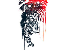 Tyger Tyger T-Shirt Design by