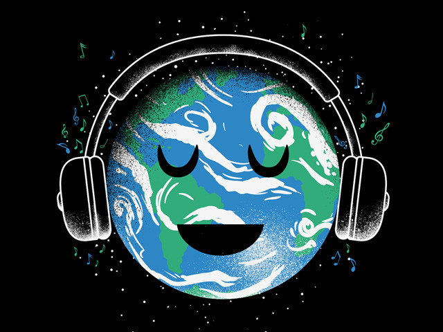 the whole planet loves music