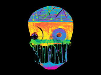 Skulour Neon by GB_ENIGMA