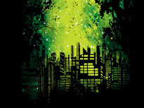 Light Pollution T-Shirt Design by